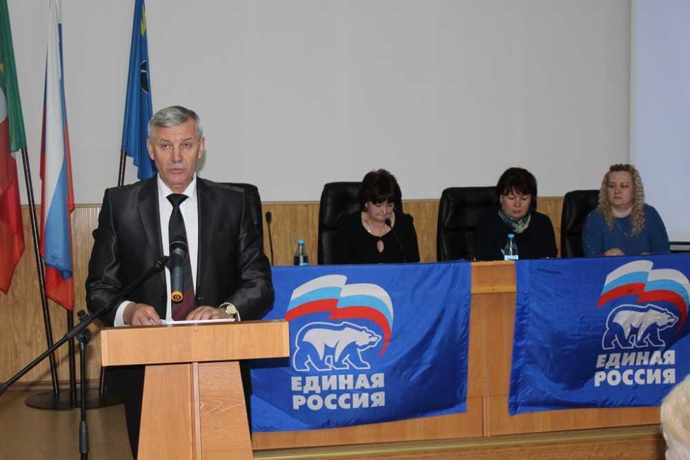 Николай Грудцын избран секретарем Нолинского местного отделения «Единой России»